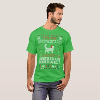Wunderbare Zeit mit amerikanischem Bobtail T-Shirt