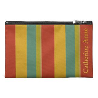 Wunderbarer Weltpaletten-Streifen personalisiert Reisekulturtasche