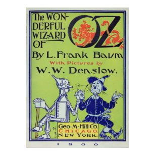 Wunderbarer Zauberer von Oz Poster