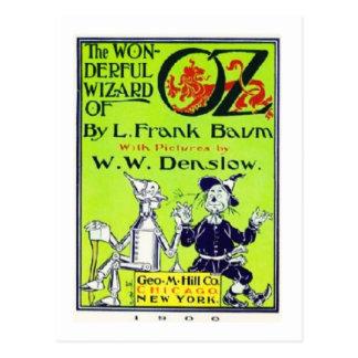 Wunderbarer Zauberer von Oz Postkarte