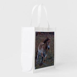 wunderbares Pferd Wiederverwendbare Einkaufstasche