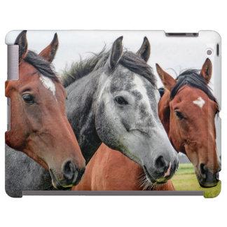 Wunderbares Pferdetier-Reinigen iPad Hülle