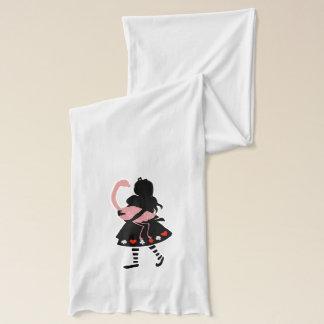 Wunderliche Alice u. rosa Flamingo Schal