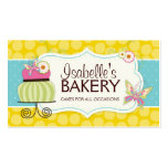 Wunderliche Bäckerei-Visitenkarte