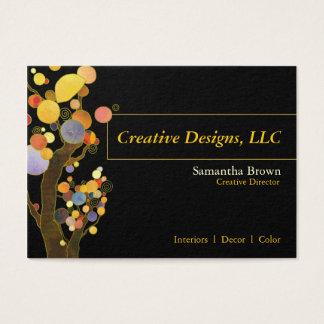 Wunderliche Baum-Designer-Visitenkarten Jumbo-Visitenkarten