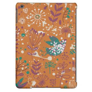 Wunderliche Blumenvögel iPad Air Hülle
