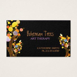 Wunderliche Boho Baum-Termin-Karten Visitenkarte