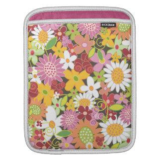Wunderliche Frühlings-Blumen süße rosa iPad Hülse iPad Sleeve