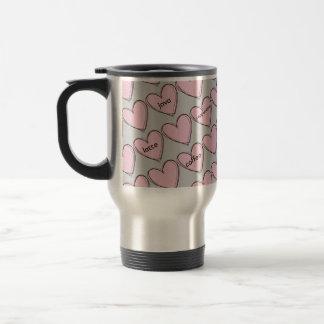 Wunderliche Kaffee-Herz-Reise-Tasse Edelstahl Thermotasse