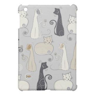 Wunderliche Katzen Hüllen Für iPad Mini