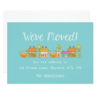 Wunderliche neue Adressen-Mitteilung 12,7 X 17,8 Cm Einladungskarte