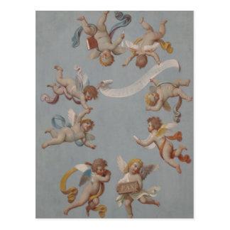 Wunderliche Renaissance-Engel-Engel Postkarten