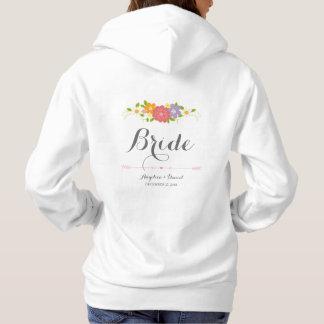 Wunderliche rustikale romantische hoodie