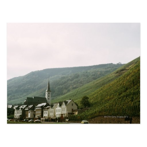 Wunderliche Stadt von Moselles in Italien Postkarten