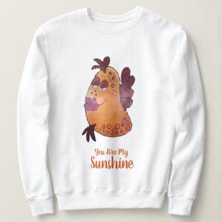 Wunderliche und kokette Fisch-Kunst Sweatshirt