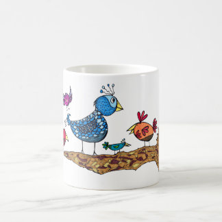 Wunderliche Vogel-Tasse Tasse