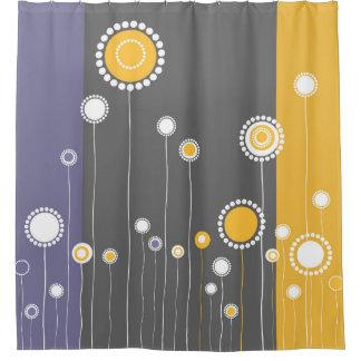 Wunderlicher Blumen-Muster-Entwurf Duschvorhang