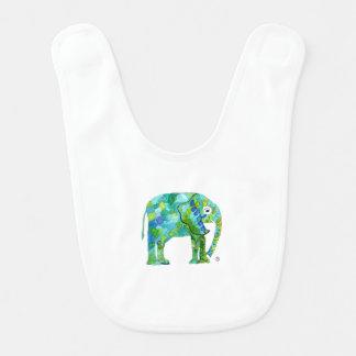 Wunderlicher Elefant-Baby-Schellfisch Lätzchen