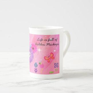 Wunderlicher Frühling VERSTECKTE MICKEY Porzellantasse