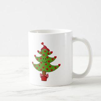 Wunderlicher Herz-Baum Kaffeetasse