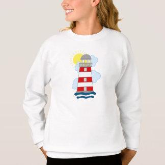 Wunderlicher Leuchtturm Sweatshirt