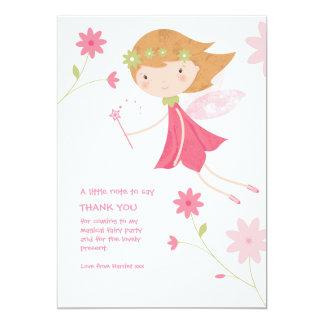 Wunderlicher magischer feenhafter Geburtstag Karte