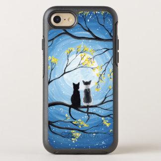 Wunderlicher Mond mit Katzen OtterBox Symmetry iPhone 8/7 Hülle