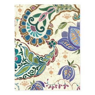 Wunderlicher Pfau Postkarten