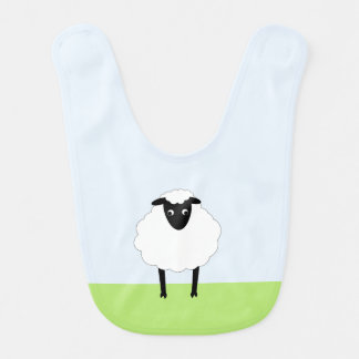 Wunderlicher Schaf-Schellfisch Babylätzchen