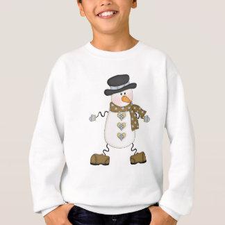 Wunderlicher Schneemann Sweatshirt