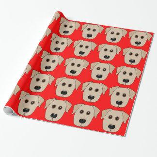 Wunderliches Labrador-Verpackungs-Papier Geschenkpapier