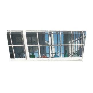 Wunderliches Portal-Fenster im Martha's Vineyard Leinwanddruck