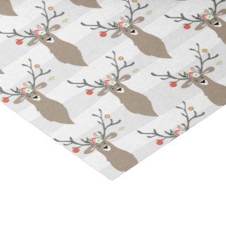 Wunderliches Ren-Weihnachten Seidenpapier