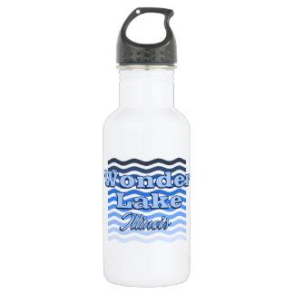 Wundern Sie sich See-die blaue Trinkflasche
