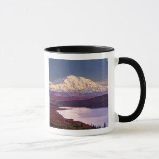 Wundern Sie sich See und Mt. Denali am Tasse