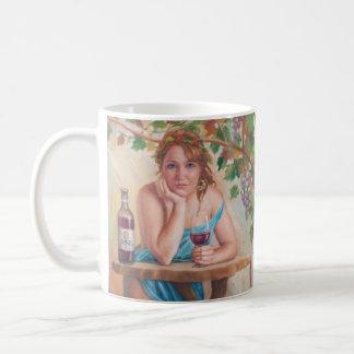 Wunsch für Wein - Mythos-Mädchen-Tasse Kaffeetasse