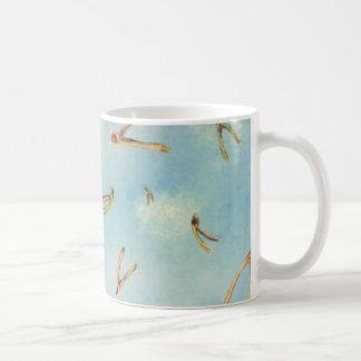 Wunsch-Knochen Kaffeetasse