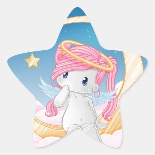 Wunsch nach einem Stern Sternaufkleber