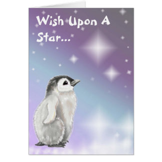 Wunsch nach einem Stern… Karte