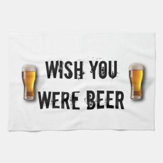 Wunsch waren Sie Bier - Küchenstoff! Küchentuch