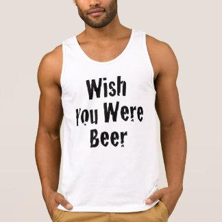 Wunsch waren Sie Bier Tank Top