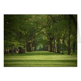 """""""Wunsch waren Sie hier"""" im Central Park Karte"""