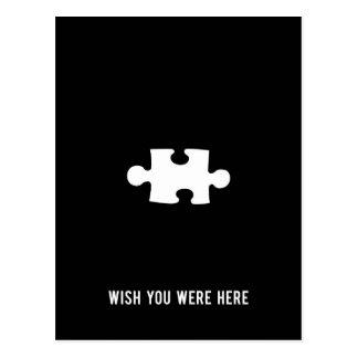 Wunsch waren Sie hier Postkarte