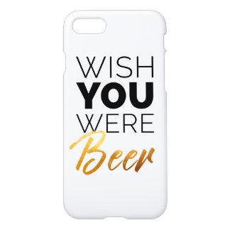Wünschen Sie, dass Ihre Bier waren iPhone 8/7 Hülle