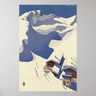 Wunshhelm Österreich Vintages Reise-Plakat Poster
