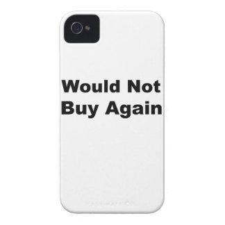 Würde nicht wieder kaufen Case-Mate iPhone 4 hülle