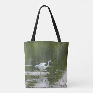 Würdevolle Reiher-Taschen-Tasche Tasche