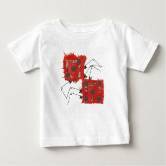 Würfel-Marienkäfer-Kleinkind-T - Shirt