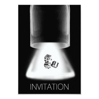 Würfel-Nachtjungen-Nachtheraus Einladung