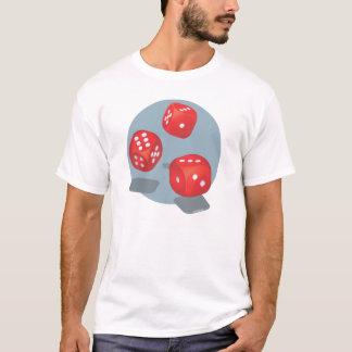 Würfel! (Rot drei die) T-Shirt